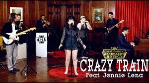Crazy Train - Ozzy Osbourne (Motown Style Cover) ft. Jennie Lena ...