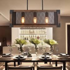 wood kitchen island chandelier farmhouse pendant ceiling light