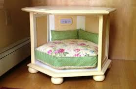 Dog bedroom furniture Extreme Dog Dogbedsidetable Barkpost 14 Innovative Diy Home Makeovers To Satisfy Your Inner Dog Lover