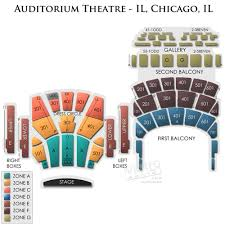 Auditorium Theater Seating Chart Auditorium Theater Chicago Il Pictures Stage Seating