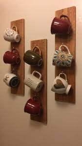 Coffee Cup Rack Under Cabinet 25 Best Ideas About Mug Rack On Pinterest Coffee Mug Storage