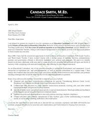 Sample Cover Letter For Special Education Consultant Corptaxco Com