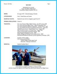Airline Pilot Resume Format If You Want To Propose A Job As An