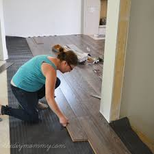 installing laminate flooring. How To Install Laminate Flooring - The Best Floors For Families, Kids \u0026 Pets | DIY Mommy Installing