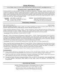 intelligence resume. attractive business intelligence analyst resume sample  ...