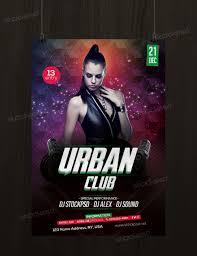 urban club psd flyer template net urban club is a perfect flyer