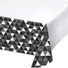 black plastic tablecloth fractal black plastic tablecloth black and white polka dot plastic round tablecloth