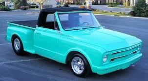 1967 Chevy C10 Convertible Prostreet Pickup Truck Built For SEMA