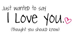 Just Wanted To Say I Love You Quotes Amazing Just Wanted To Say I Love You Thought You Should Know Love