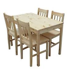 image is loading westwood quality solid wooden dining table and 4