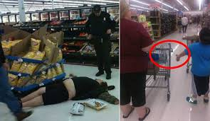normal walmart shoppers.  Shoppers And Normal Walmart Shoppers