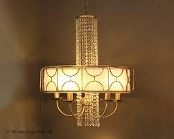 venice 5 antique brass crystal pendant light nirvana lighting nirvana lighting