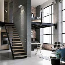 Small Loft Design This Would Be Great As Work Space For The Family Right Off The
