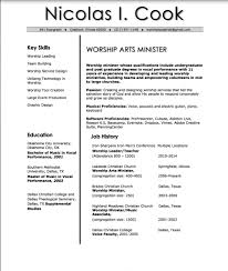 Worship Pastor Resume Cpa Resume Example Css Invoice Template