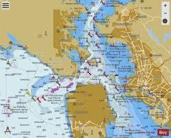 San Francisco Entrance Marine Chart Us18649_p1823