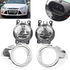 Ford Focus Fog Lights Switch Clear Driving Fog Light Bumper Lamp Switch H11 Bulb For Ford