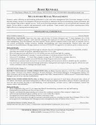 Retail Manager Resume Template Fascinating General Manager Resume Sample Retail Manager Resume Templates