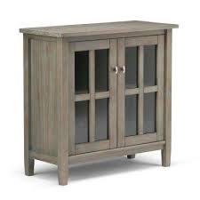 solid wood storage cabinets. Exellent Storage Warm Shaker Distressed Grey Low Storage Cabinet And Solid Wood Cabinets O