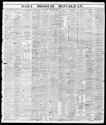 Daily Missouri Republican Saint Louis Mo 1855 07 27