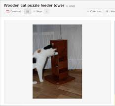 diy wooden foraging tower woodentower we love seeing how people get creative with homemade puzzles and sometimes people get fancy