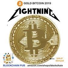 Gold Bitcoin 2019 Commemorative Celebrate The ... - Amazon.com