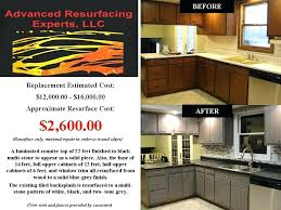 kitchen resurfacing kitchen countertop resurfacing ideas