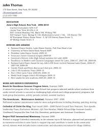 How To Write A Resume For A Scholarship College Application Resume