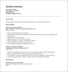 public administration resume sample admissions administrative resume  example public administration resume objective