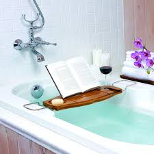 Umbra Aquala Bamboo Bathtub Caddy - Free Shipping Today - Overstock.com -  16782316
