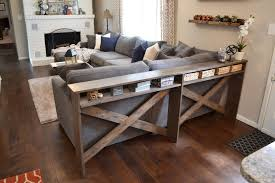 small sofa table. Behind The Sofa Table Diy Plans To Build A Rustic Console C Tables For Couch Small