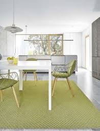 designed by borja garcia the rug s smooth layer of wool is laid over the jute