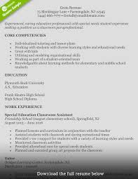 Assistant Principal Resume Sample How to Write a Perfect Teaching Resume Examples Included 53