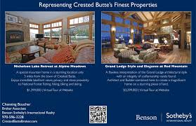 real estate ad crested butte real estate ads channing bouchers crested butte