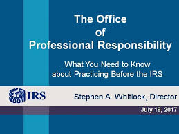 Office Of Professional Responsibility Irs Wikipedia
