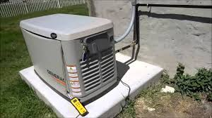 generac generator installation. Generac Whole House Generator Install Part 6 Final Installation P