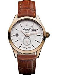 amazon co uk ingersoll watches ingersoll men s automatic watch white dial analogue display and brown leather strap in8703rwh