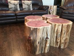 tree stump furniture. tree stump end table night stand stool furniture s