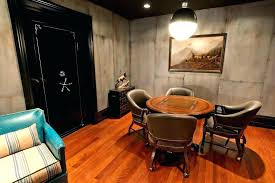 basement wall decor game room vaulted decorating ideas traditional with bar