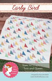 Early Bird Quilt Pattern It's Sew Emma #ISE-176 | Fat Quarter Shop & Hover to zoom Adamdwight.com