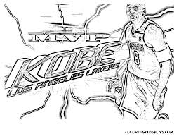 Small Picture Beautiful Kobe Bryant Coloring Pages Contemporary New Printable