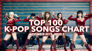 Top 100 K Pop Songs Chart November 2019 Week 2