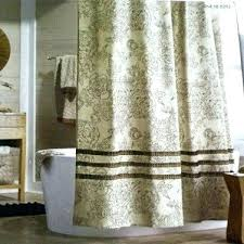 brown fabric shower curtain burnboxco