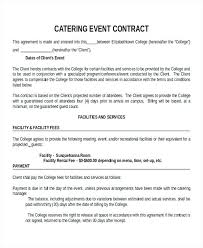 Agreement Templates Business Contract Template Example Of A Business Contract Event Contract Template Cleaning
