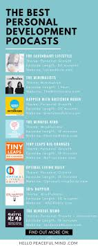 best ideas about personal development personal best personal development podcasts you need to listen in 2017