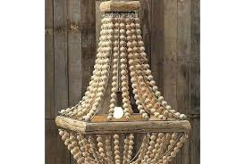 full size of small wood bead chandelier world market new throughout antique whitewash home improvement likable