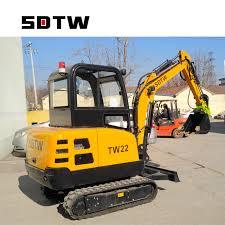 China Sdtw <b>Tw22 Hot Selling</b> High Quality New Mini Excavators ...