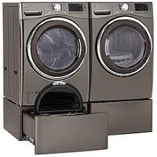 kenmore 20372. kenmore 4.5 cu. ft. front-load washer, pedestal dryer \u0026 20372