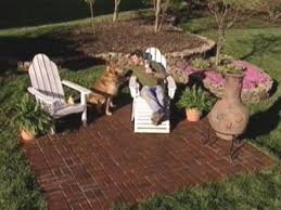 brick patio ideas. A Newly Completed Brick Paver Patio Project Ideas