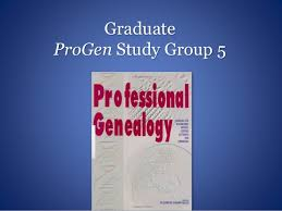 Michael Hait  Professional Genealogist   Visual Resume Graduate ProGen Study Group