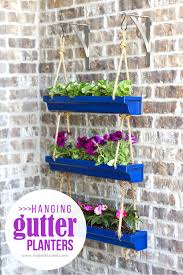 Diy Planters Diy Hanging Rain Gutter Planters Make It And Love It